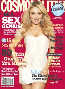 Hayden Panettiere   Cosmopolitan 'April 2008'