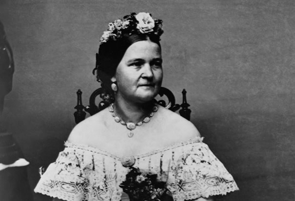 Mary Todd Lincoln on Word Family Blackout